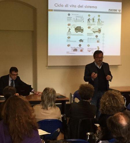 Mauro Bergamaschi parla di sostenibilità all'Università Cattolica