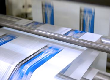 La stampa personalizzata sui film in bobina