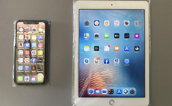 Bustine porta smartphone e tablet monouso