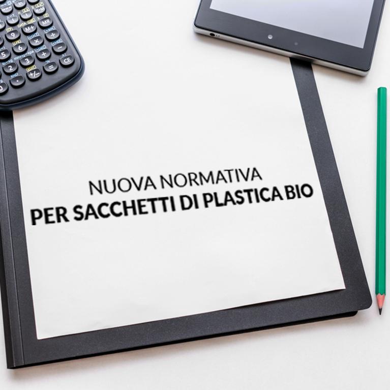 Nuova normativa sacchetti plastica bio