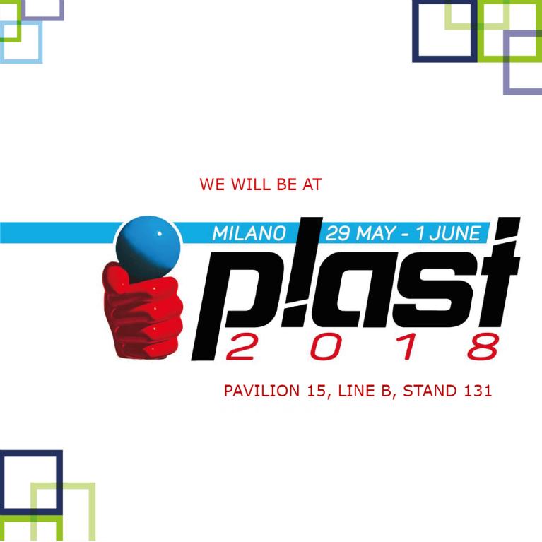 Plastisac a Milano per partecipare a Plast 2018