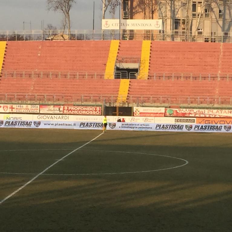 Plastisac sui media locali per la sponsorizzazione del Mantova Calcio