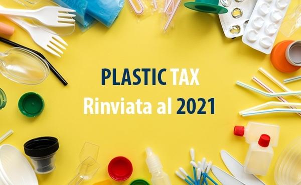 Rinviata la Plastic Tax al 2021
