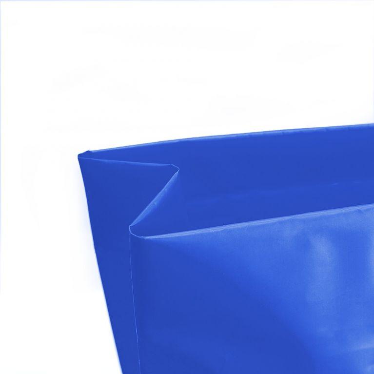 Dettaglio del soffietto nella borsa in PE