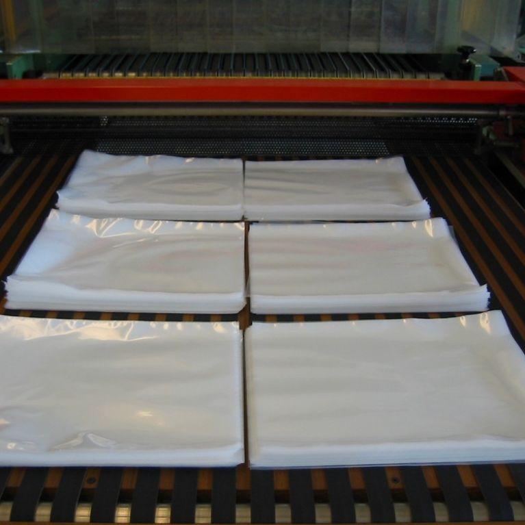 Produzione fogli in polietilene