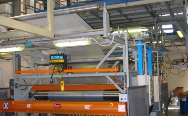 Reparto di produzione articoli in polietilene
