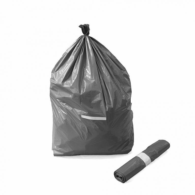 Sacchi per immondizia in polietilene (nero)
