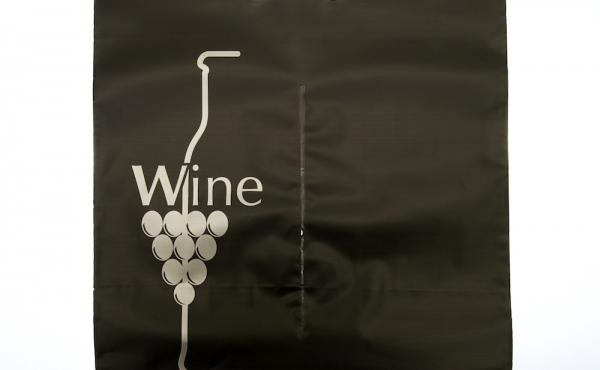 Wine-bag in polietilene (colore Nero)
