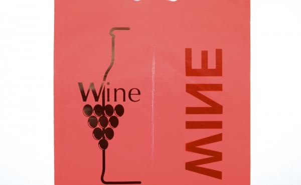 Wine-bag in polietilene (colore Rosso)